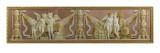 La Naviguation et le commerce, l'Architecture et la Peinture Giclée-Druck von De Roussy-Trioson Anne-Louis Girodet