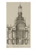 """Recueil des """"Plans, Profils et Elévations du Château de Versailles..."""" : planche 6 : coupe Giclee Print by Pierre Lepautre"""