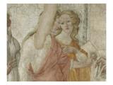 Vénus et les Grâces offrant des présents à une jeune fille Giclee Print by Sandro Botticelli
