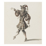 Tome III (1696 DR &#224; 1761DR) : Costumes de f&#234;tes et de mascarades. Th&#233;&#226;tre de Louis XIV ; H&#233;ros Reproduction proc&#233;d&#233; gicl&#233;e par Jean I Berain