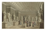 Visit of Foreign Characters in the National Museum Giclee Print by Benjamin Zix