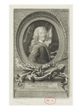"Voltaire (1694-1778) - Taking ""The Henriade"" in 1736 Giclee Print by Maurice Quentin de La Tour"