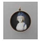 Recto : Marie-Amélie de Bourbon-Siciles (1782-1866), autrefois dit à tort La reine Marie-Caroline Giclee Print