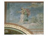 Le sacrifice d'Abraham, quatrième travée côté droit de la nef de l'église S Lámina giclée por Hippolyte Flandrin