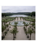 View of the Orangerie at the Bottom Basin Pond Swiss Giclee Print