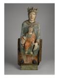 """Vierge en Majesté, dite """"Notre-Dame de Baroilles"""" Reproduction procédé giclée"""