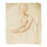 Deux études : tête, buste, bras Giclée-Druck von Arnould de Vuez