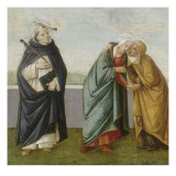 Noli me tangere avec saint Pierre Martyr, la Visitation, David, la rencontre de saint Fran&#231;ois et Reproduction proc&#233;d&#233; gicl&#233;e par de la L&#233;gende d&#39;Apollon et Daphn&#233; Ma&#238;tre