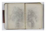 Sketchbook Circa 1865-1870; Studies with Characters Giclee Print by William Adolphe Bouguereau