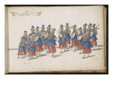 Album ; Ballet des Fées de la forêt de Saint Germain ; Musique servant de Grand ballet Giclee Print by Daniel Rabel