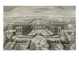 """Recueil des """"Plans, Profils et Elévations du Château de Versailles..."""" : planche 47 : vue Giclee Print by Pierre Lepautre"""