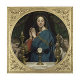 La Vierge 'Hostie Giclee Print by Jean-Auguste-Dominique Ingres