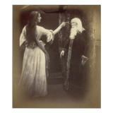 Vivien and Merlin Giclee Print by Julia Margaret Cameron