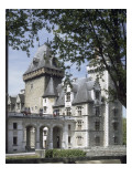 Vue de l&#39;aile est du ch&#226;teau de Pau (depuis la ville) Giclee Print