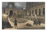 A Scramble in Torches, Fontainebleau, May 12, 1857 Giclee Print