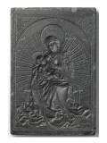 La Vierge et l'Enfant Reproduction procédé giclée