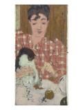 Mme Claude Terrasse, née Andrée Bonnard, soeur du peintre, femme du compositeur Reproduction procédé giclée