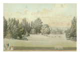 View of Malmaison for the Capture of the Castle Park Giclee Print by Auguste Garneray