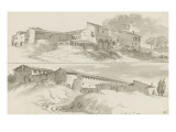 Two Areas in the Vicinity of St. Peter and St. Agnes Giclee Print by Pierre Henri de Valenciennes