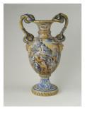 Vase à deux anses en forme de serpent Reproduction procédé giclée