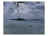 Venise : la nuit sur la lagune Giclee Print by Jules Bastien-Lepage