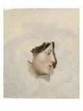 Tête de femme de profil à droite Giclée-Druck von Pierre Henri de Valenciennes
