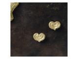 Deux perles d'un collier: pendeloques en forme de coeur Giclee Print