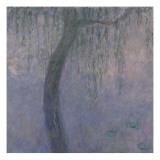 Les Nymphéas : Les Deux saules Giclee Print by Claude Monet