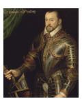 François Ier, second duc de Montmorency, Maréchal de France- en armure grav Reproduction procédé giclée