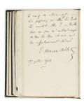 Volume III : Lettre-autographe , 17-jui-1904 Giclee Print by Etienne Moreau-Nelaton