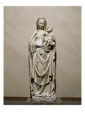 Virgin and Child from the Church of Breuil (Marne) Giclee Print