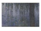 Les Nymphéas : Le Matin clair aux saules Giclee Print by Claude Monet