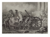 13 Vendémiaire, Saint Roch, 1795 Giclee Print by Denis Auguste Marie Raffet