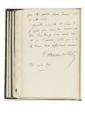 Volume III : Lettre-autographe , 26 oct.1904 Giclee Print by Etienne Moreau-Nelaton