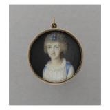 Recto: Marie-Caroline d'Autriche, reine des Deux-Siciles (1752-1814) et au verso Marie-Christine Giclee Print