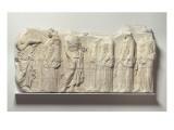 Fragment de la frise est du Parthénon. Vers 445-438 av J.-C. Giclee Print