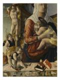 la Vierge à l'enfant entourés de huit anges Reproduction procédé giclée par Marco Zoppo