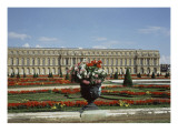 View of Versailles Park Side (Shooting in the 80S) Giclée-Druck