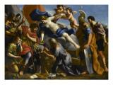 Vénus versant le dictame sur la blessure d'Enée Giclee Print by Giovanni Francesco Romanelli