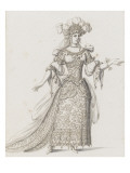 Tome IV (1762DR &#224; 1902DR) : Costumes de f&#234;tes et de mascarades Th&#233;&#226;tre de Louis XIV Giclee Print by Jean I Berain