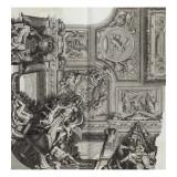 Recueil : Le Grand Escalier du château de Versailles. planche 26 : vue d'un des quatre angles du Lámina giclée por Etienne Baudet