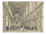 Memories of Fontainebleau: Chapel of the Holy Trinity Giclee Print by Philippe Benoist