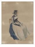 Jeune bernoise Giclee Print by Denis Auguste Marie Raffet