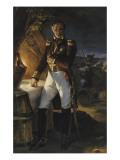 Laurent, marquis de Gouvion Saint Cyr, maréchal de France (1764-1830), repr Giclée-Druck von Horace Vernet