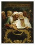 Mohammed Temin, ambassadeur du Sultan du Maroc, assistant à un spectacle dans une loge de la Giclee Print by Antoine Coypel