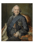 Ferdinand duc de Brunswick, g&#233;n&#233;ral en chef des arm&#233;es prussiennes (1721-1792)- il porte l&#39;ordre Reproduction proc&#233;d&#233; gicl&#233;e