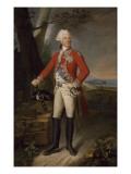 Portrait de Charles-Eugène-Gabriel de La Croix, marquis de Castries, Maréchal de France en 1783 Giclee Print by Joseph Boze
