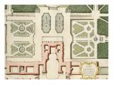 Recueil des châteaux, jardins, bosquets et fontaines de Versailles, Trianon Giclée-Druck