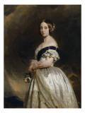 Victoria Ière, reine de Grande-Bretagne et d'Irlande en 1837 - Impératrice des Indes (1819-1901) - Giclee Print by Franz Xaver Winterhalter