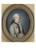 Portrait de Pierre-Charles Bonnefoy du Plan, garde des meubles de la Reine Marie-Antoinette et Giclee Print by Joseph Boze